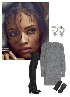 Untitled #37 by jdjmacpherson on Polyvore featuring polyvore, fashion, style, Wood Wood, Eddie Borgo, Designers Remix, Yves Saint Laurent, Firth and clothing
