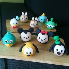 Disney Tsum Tsum cake topper | Whisk and Whisk Bespoke Cakes