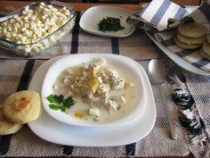 justo lo que necesito right now...tu no @Maria Fernanda R ....Chupe de Gallina - Food for the soul