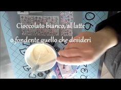 Marshmallow decorati con trasferelli per cioccolato