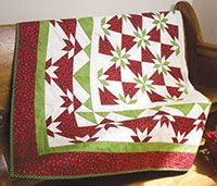 Mayberry Bough Quilt Kit from QuiltandSewShop.com