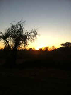 Sunrise, Sondela, autumn 2014