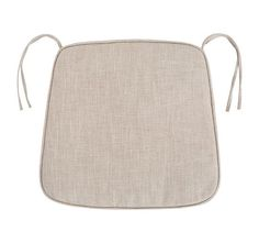 PB Classic Dining Chair Cushion, Large, Faux Suede Metal Gray
