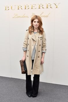 Clemence Poesy Photos - Chloe : Front Row - Paris Fashion Week Womenswear Fall/Winter 2016/2017 - Zimbio