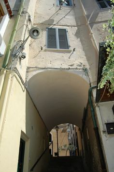 Ospedaletti (IM), antica porta