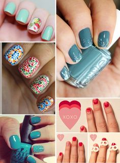 Creative beautiful nails