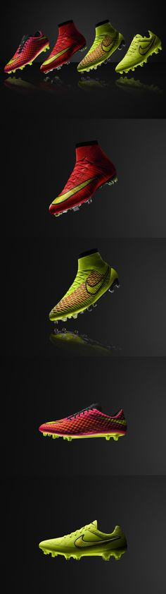 Meet Nike's Summer 2014 Boots Line-up. You'll be seeing these a lot over the next couple of months!