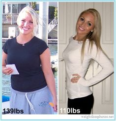 This is such a great transformation to see. She looked good before, but incredible now!