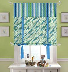 Curtain Idea for Wade's room