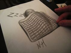3d pencil drawings illusions | 25 Stunning 3D Optical Illusion Drawings