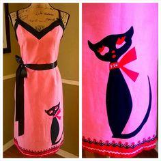 Adorable Vintage dress / Kleid wackeln / Pinup / von PussycatAlice, $73.00