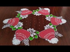 Sankarthi chukkala muggulu Sankranthi special rangoli Thanks for watching 🙏🙏 Please like share comment below fo. Indian Rangoli Designs, Simple Rangoli Designs Images, Rangoli Designs Flower, Rangoli Patterns, Rangoli Designs With Dots, Beautiful Rangoli Designs, Lotus Rangoli, Peacock Rangoli, Diwali Rangoli
