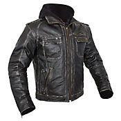 CUSTOM BILT - Drago Leather Motorcycle Jacket - Leather - Jackets - Biker - Cycle Gear