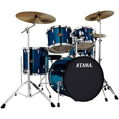 Tama Imperialstar 5Piece 20 Bass Drum Set with Cymbals Midnight Blue *** Continue to the product at the image link.(It is Amazon affiliate link) #30likes