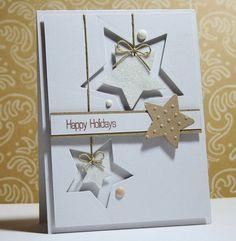 I scrap my way: Merry Monday #85 - Stampin Up Star Framlits
