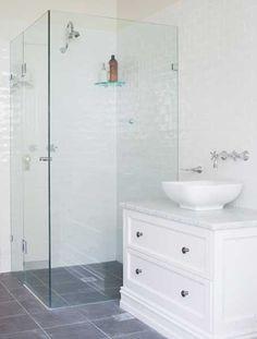 Similar design to our shower room  Provincial Kitchens Sydney