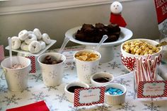 Winter ONEderland | hot cocoa bar