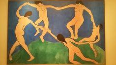 FOTO ORIGINALE. Matisse; la danza; 1909-10; olio su tela; Met,New York.