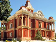 Bent County Courthouse in Las Animas, Colorado