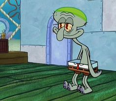 <b>We are all Squidward.</b>