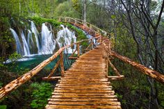 Plitvice Lakes National Park is Croatia's largest national park and is just a few hours away from the capital city of Zagreb.