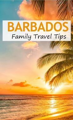 The best things to do with kids in Barbados as a family, including visiting a pirate ship, playing in tidal pools, and exploring Barbados by submarine #Barbados #Caribbean #travel #vacation