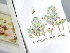 The Forget me not hankie, made with love by our Bulgarian women from disadvantage backgrounds. Tamielle provides them with work and the self esteem that comes from creating something beautiful with their own hands. Handkerchief Crafts, People In Need, Forget Me Not, Stocking Fillers, Single Women, Something Beautiful, Hand Embroidery, Birthday Gifts, Unique Gifts