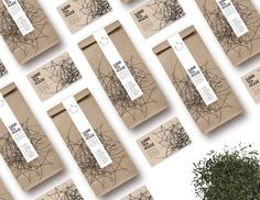 Visual Identity, packaging and stationery for Surrii Tea House Packaging Design, Branding Design, Bottle Packaging, Visual Identity, Gallery Wall, Stationery, Tea, Frame, Prints