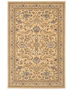 Karastan Rug 10x16 Ivory Kirman 788 Large Carpet In Excellent Cond