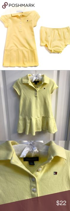 Tommy Hilfiger Baby Girl Rugby Dress Set sz 18m Tommy Hilfiger Baby Girl Rugby Dress Set (dress with panty) sz 18m - Brand New! Tommy Hilfiger Dresses Casual