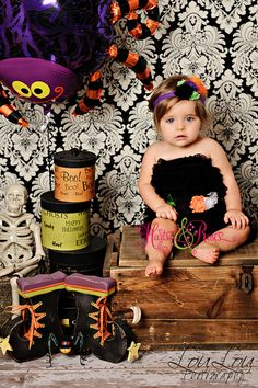 Halloween Photo shoot.  Too cute!  Outfit for $35.90