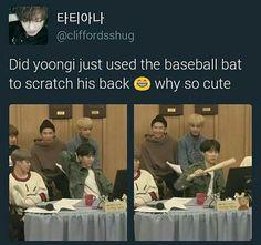 And jimin being yoongi x3 ♥