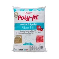 Poly-fil Polyester Stuffing. 16 oz - Mercari: Anyone can buy & sell