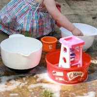 Ice and water play. 38 ways to beat the heat