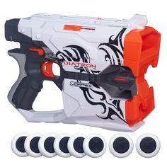 NEW in Box Nerf Vortex Diatron Blaster Toy Vortex Disc Gun #NERF