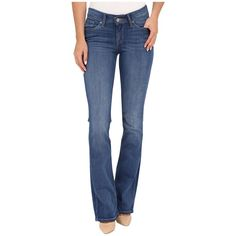 Levi's Womens 715 Bootcut (Pooled Blues) Women's Jeans ($42) ❤ liked on Polyvore featuring jeans, blue skinny jeans, boot cut jeans, zipper skinny jeans, levi jeans and 5 pocket jeans