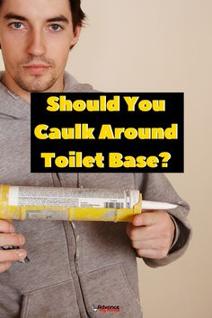 Should You Caulk Around Toilet Base? Read Our Full Article where we reveal everything you need to know about chaulking a toilet base. Leaking Toilet, Bidet Toilet Seat, Toilet Seats, Colored Toilets, Water Tub, Dual Flush Toilet, Paper Light, Diy Network, Home Decor Pictures