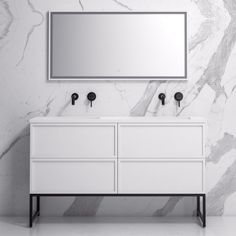 Lusso Piana Matte White and Black Steel Framed Bathroom Vanity Unit Freestanding 1400 Luxury Hotel Bathroom, Luxury Bathroom Vanities, Bathroom Vanity Units, Bathroom Ideas, Bathroom Sinks, Bathroom Designs, Bathroom Remodeling, Wooden Bathroom, Rustic Bathrooms