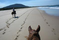 Photo Gallery - Boomerang Trail- a horseback riding vacation in Australia on beaches