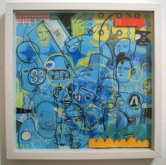 Arte em papel ph neutro, técnica mista. Medidas: 30x30 Artista: Loro Verz www.loroverz.com #loroverz #art