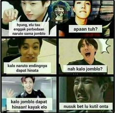New memes bts indonesia Ideas Memes Funny Faces, Funny Kpop Memes, True Memes, Single Jokes, Korea, Best Friends Funny, Family Humor, Boyfriend Humor, New Memes