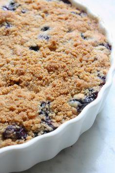 blueberry coffee cake!!