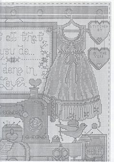 Country Room part 1 of 3 free cross stitch pattern