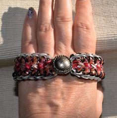 Corset loom armband - loom bracelet