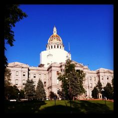 "Get officially a ""Mile High"" on the 13th step of the Colorado State Capital. Fun fact: It's one of the few state capital dome's with real gold."