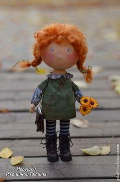 """Кукла """"Рыжее чудо"""". Handmade."""