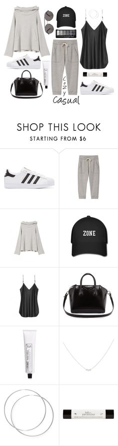 """Cozy Casual Wear!"" by prettynposh2 ❤ liked on Polyvore featuring adidas Originals, Nili Lotan, Givenchy, L:A Bruket, Accessorize, philosophy, Seafolly, lazy and cozy"