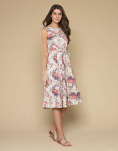 Candice Printed Dress