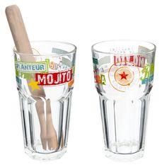 [J'AI ♥] Coffret 2 verres à mojito MAISON DU MONDE