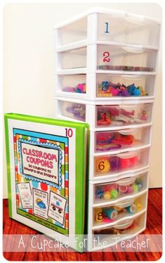 Do you use a reward system in your classroom? Here's another idea for you.